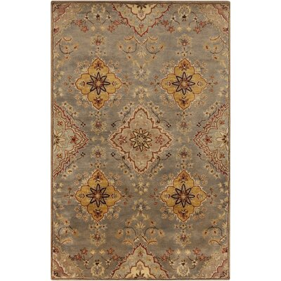 Ponce Gold Rug Rug Size: Rectangle 5 x 8