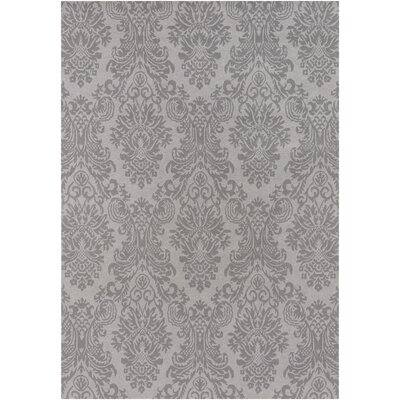 Terran Light Gray Rug Rug Size: 2 x 3