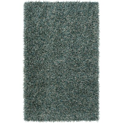 Creason Dark Turquoise Rug Rug Size: Rectangle 2 x 3