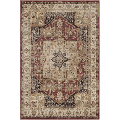 Kaitlyn Red Area Rug Rug Size: 7 10 x 10 6