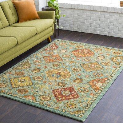 Masala Market Blue Area Rug Rug Size: 9 3 x 12 6