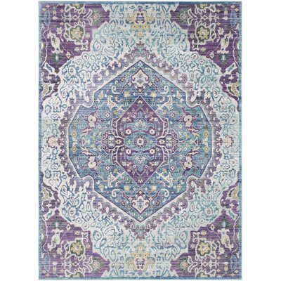 Kamil Purple/Blue Area Rug