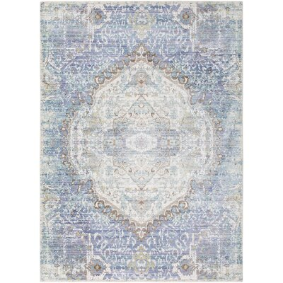 Fields Purple/Blue Area Rug