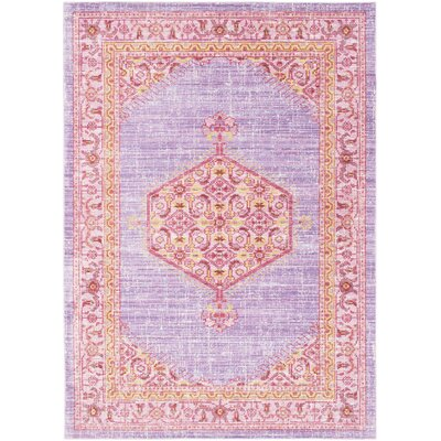 Fields Purple/Pink Area Rug