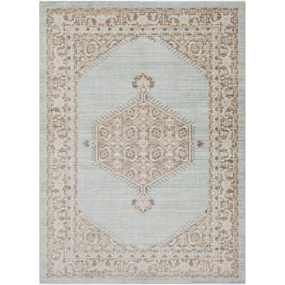 Bungalow Rose Kamil Green/Brown Area Rug