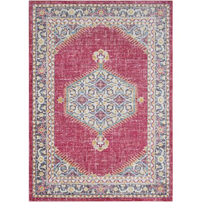 Fields Oriental Pink/Purple Area Rug