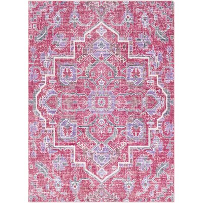 Bungalow Rose Kamil Pink/Purple Area Rug