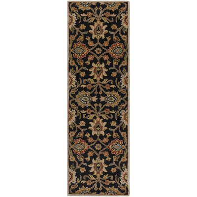 Keefer Hand-Tufted Rust/Brown Area Rug Rug Size: Runner 3' x 12'