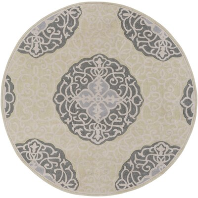 Windsor Hand-Tufted Green/Gray Area Rug Rug Size: 8 x 11