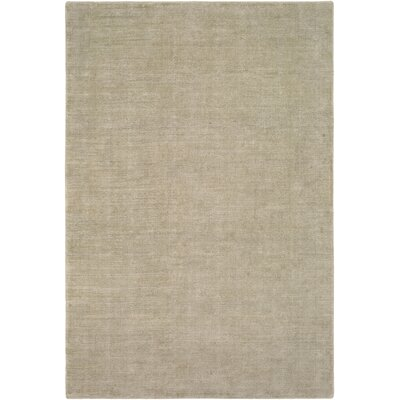 Laraine Hand-Loomed Beige Area Rug Rug Size: Rectangle 9 x 13