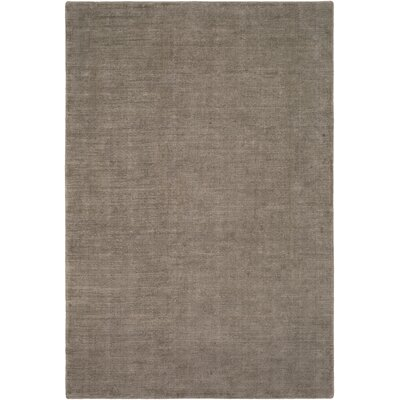 Laraine Hand-Loomed Camel/Ivory Area Rug Rug Size: Rectangle 6 x 9