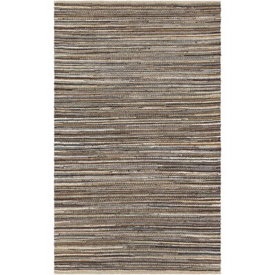 Pitcher Hand-Woven Blue/Black Area Rug Rug Size: 2 x 3