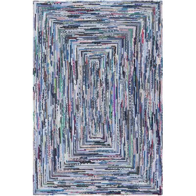 Thao Hand-Woven Blue Area Rug Rug Size: Rectangle 2 x 3