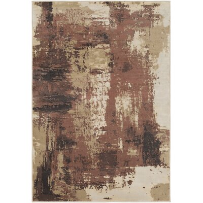 Aidy Brown Area Rug Rug Size: 710 x 1010