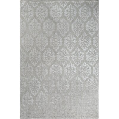 Anwen Hand-Knotted Cream Area Rug Rug Size: Rectangle 6 x 9