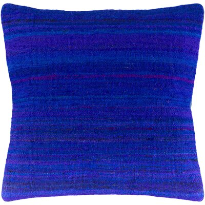 Jabari Throw Pillow Color: Dark Blue, Fill Material: Poly Fill