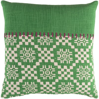 Mayson 100% Cotton Pillow Cover Size: 20 H x 20 W, Color: Grass Green