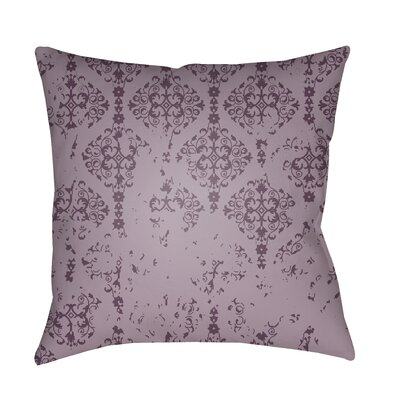 Patridge Indoor/Outdoor Throw Pillow Color: Lilac