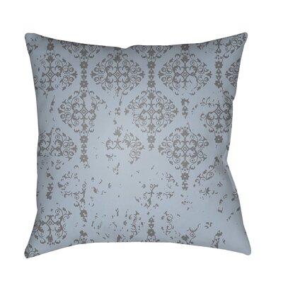 Patridge Indoor/Outdoor Throw Pillow Color: Charcoal