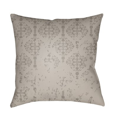 Patridge Indoor/Outdoor Throw Pillow Color: Medium Gray