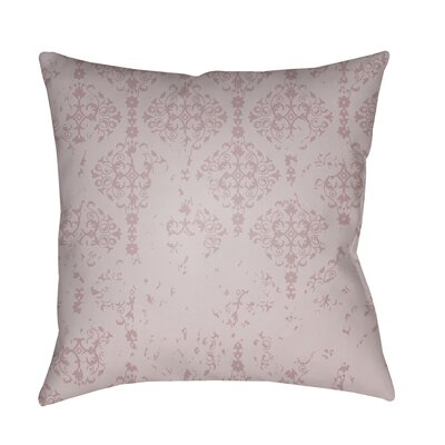 Patridge Indoor/Outdoor Throw Pillow Color: Pink