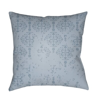 Patridge Indoor/Outdoor Throw Pillow Color: Aqua