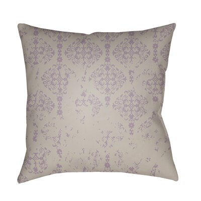 Patridge Indoor/Outdoor Throw Pillow Color: Gray