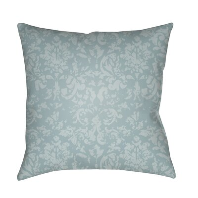 Patro Indoor/Outdoor Throw Pillow Color: Aqua