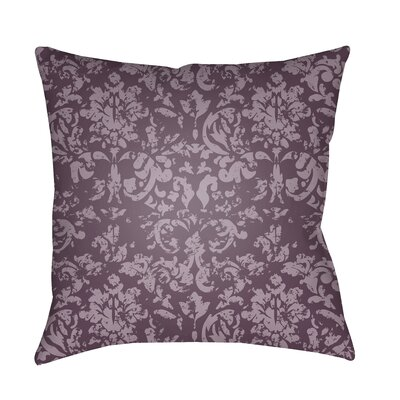 Patro Indoor/Outdoor Throw Pillow Color: Dark Purple