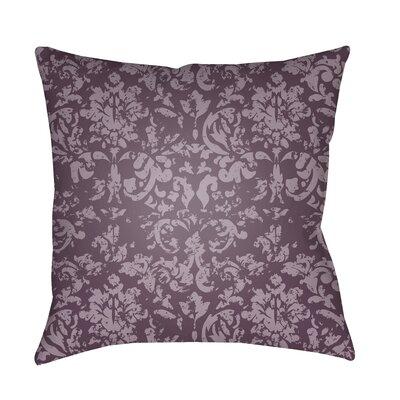 Patro Indoor/Outdoor Throw Pillow Color: Dark Purple
