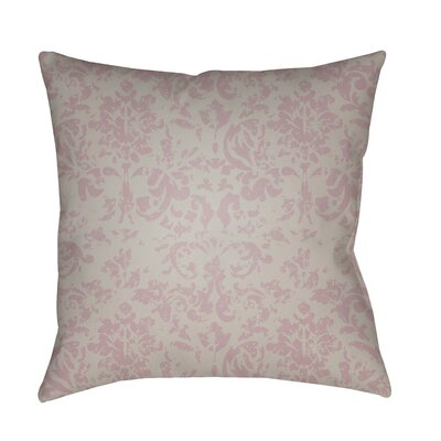 Patro Indoor/Outdoor Throw Pillow Color: Rose