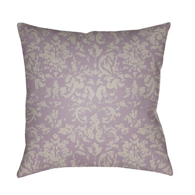 Patro Indoor/Outdoor Throw Pillow Color: Bright Purple