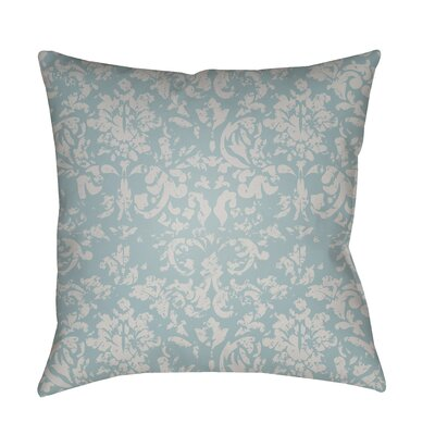 Patro Damask Indoor/Outdoor Throw Pillow Color: Light Gray