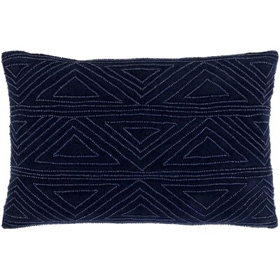 Kattie 100% Cotton Pillow Cover Color: Black