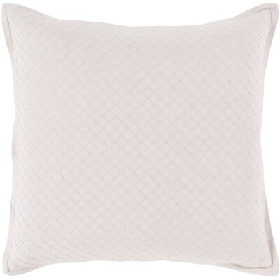 Troene Square 100% Cotton Throw Pillow Size: 20 H x 20 W, Fill Material: Down Fill