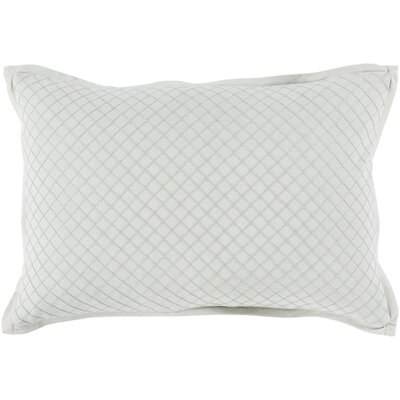 Troene 100% Cotton Lumbar Pillow Color: Sea Foam, Fill Material: Down Fill