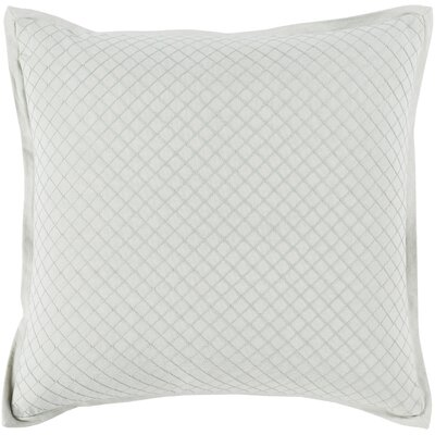 Troene 100% Cotton Throw Pillow Size: 18 H x 18 W, Color: Mint, Fill Material: Down Fill