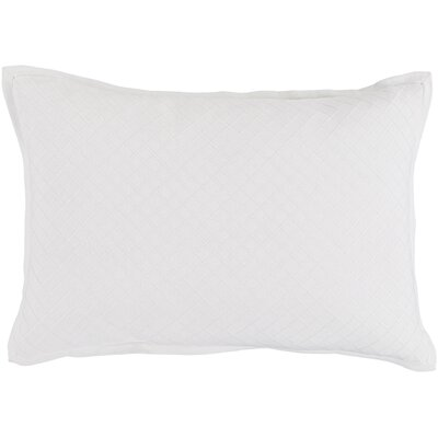 Troene Rectangular 100% Cotton Pillow Cover Color: Cream