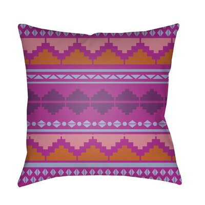 Colinda Pillow Cover Size: 20 H x 20 W x 3.5 D, Color: Bright Purple