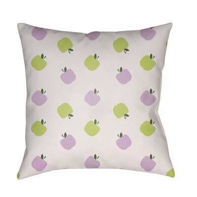 Maggie Indoor/Outdoor Throw Pillow Size: 20 H x 20 W x 3.5 D, Color: Green