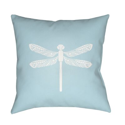 Perez Indoor/Outdoor Throw Pillow Size: 18 H x 18 W x 3.5 D, Color: Aqua