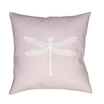 Perez Indoor/Outdoor Throw Pillow Size: 18 H x 18 W x 3.5 D, Color: Light Pink