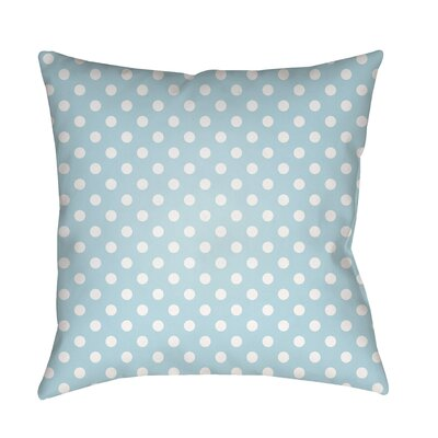 Lynda Indoor/Outdoor Throw Pillow Size: 20 H x 20 W x 3.5 D, Color: Light Blue