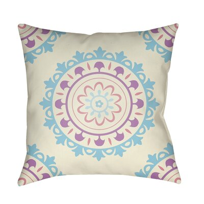 Alperin Indoor/Outdoor Throw Pillow Size: 18 H x 18 W x 3.5 D, Color: Blue