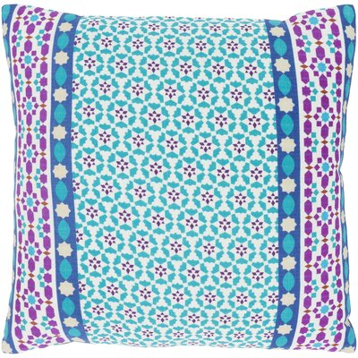Bruno 100% Cotton Throw Pillow Size: 18 H x 18 W x 3.5 D