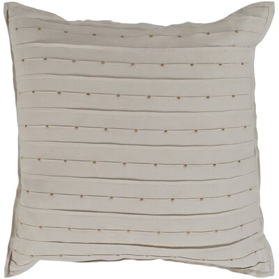 Sherise 100% Cotton Throw Pillow Fill Material: Down Fill