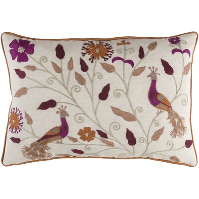 Houston Throw Pillow Color: Beige, Fill Material: Down Fill