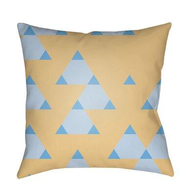 Walpole 100% Cotton Throw Pillow Color: Peach