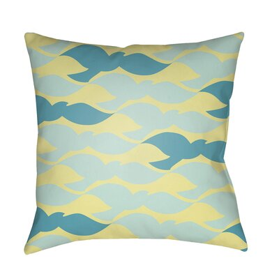 Walpole 100% Cotton Pillow Cover Color: Bright Yellow