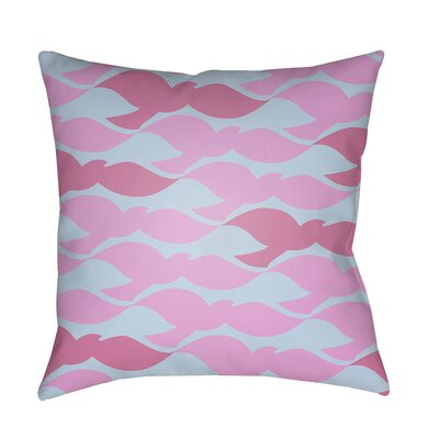 Walpole 100% Cotton Pillow Cover Color: Bright Pink